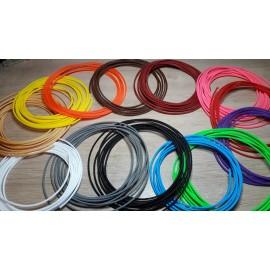 Tresse de couleur pour habillage câble en 4mm