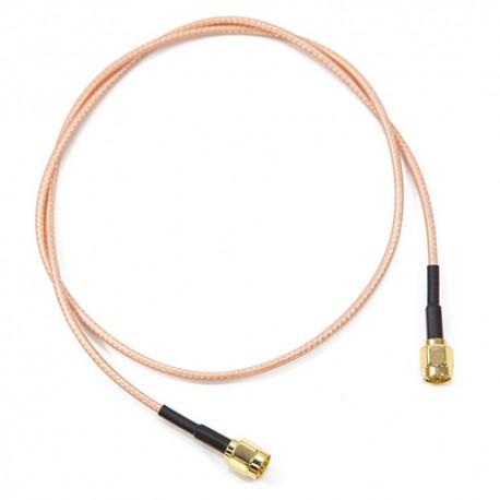 Câble SMA droit - SMA droit. 50 cm.